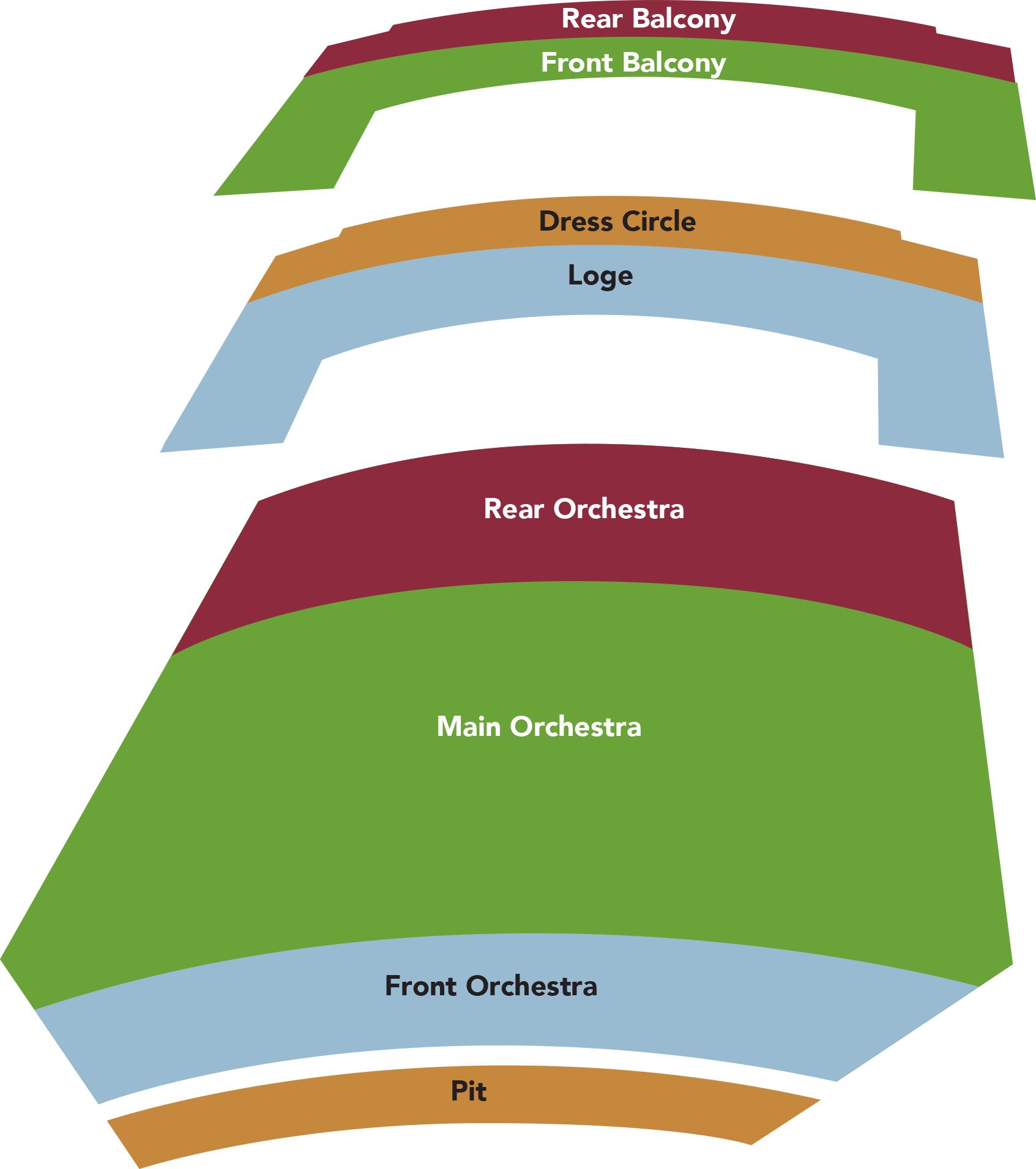 2020 Seat Map