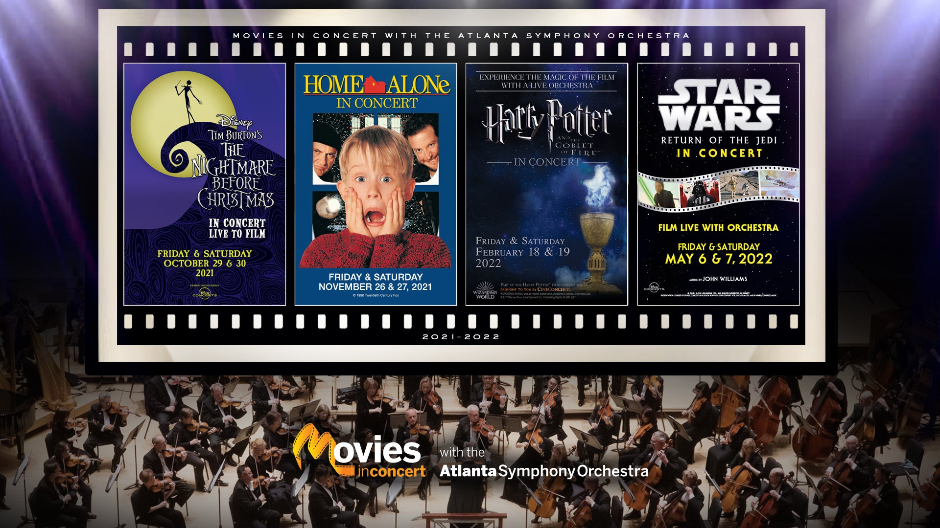 Movies in Concert Series
