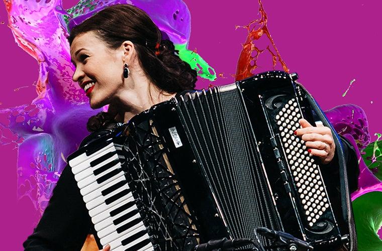 Ksenija Sidorova Performs Piazzolla