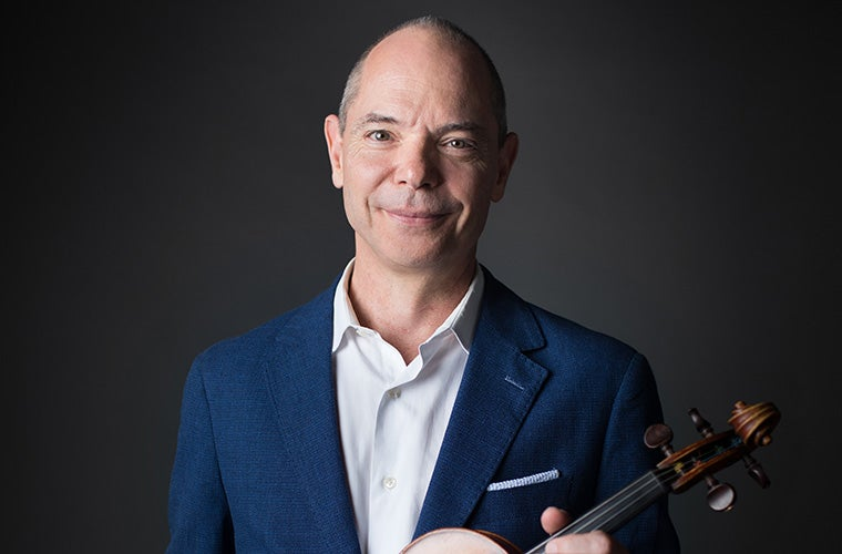 Christopher Pulgram, first violin, Atlanta Symphony Orchestra